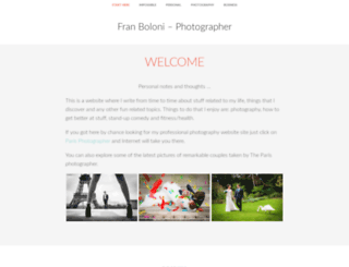 franboloni.com screenshot