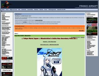 france-airsoft.fr screenshot