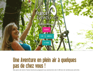 france-aventures.com screenshot