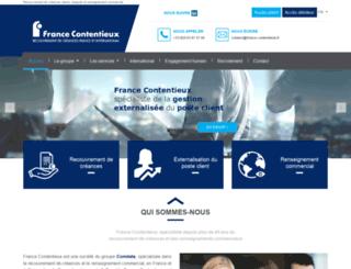 france-contentieux.fr screenshot