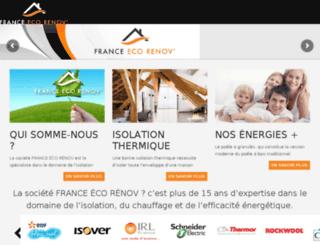 france-ecorenov.com screenshot