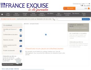 france-exquise.com screenshot