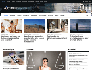 france-horizons.com screenshot