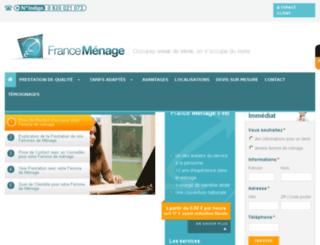 france-menage.fr screenshot