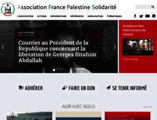 france-palestine.org screenshot