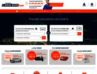 france-piece-auto.com screenshot
