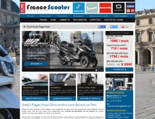 france-scooter.fr screenshot