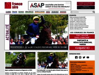 france-sire.com screenshot