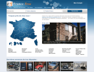 france-troc.com screenshot
