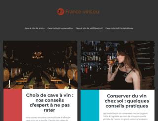 france-vins.eu screenshot
