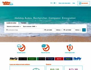 france.holidayautos.com screenshot