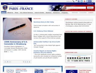 france.usembassy.gov screenshot