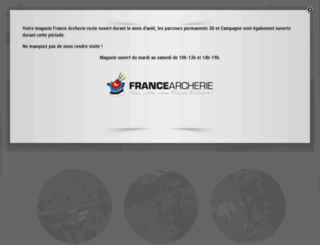 francearcherie.com screenshot