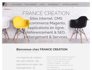 francecreation.com screenshot