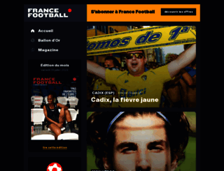 francefootball.fr screenshot