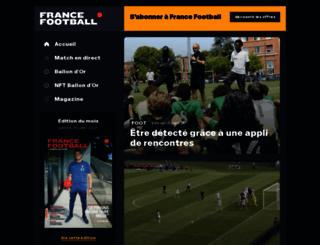 francefootball.fr screenshot
