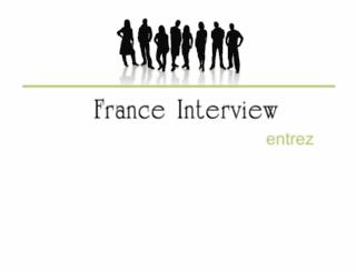 franceinterview.fr screenshot