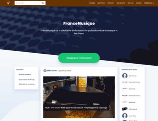 francemusiqueimageson.fr screenshot