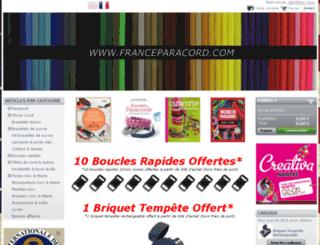 franceparacord.com screenshot