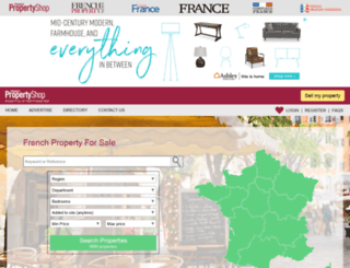 francepropertyshop.com screenshot