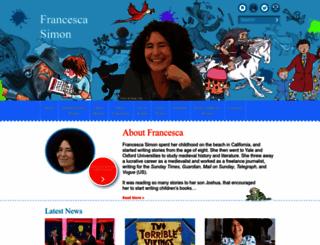 francescasimon.com screenshot