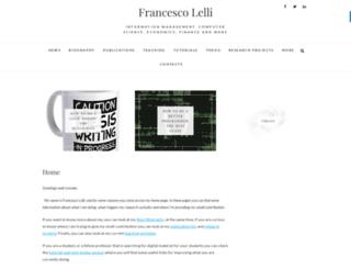 francescolelli.info screenshot