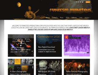 francescoproductions.com screenshot