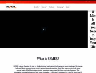 francesmares.bemergroup.com screenshot