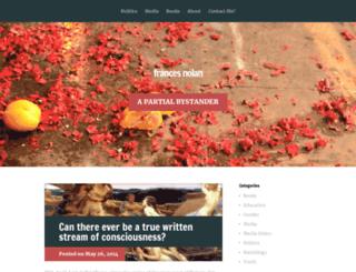 francesnolan.net screenshot