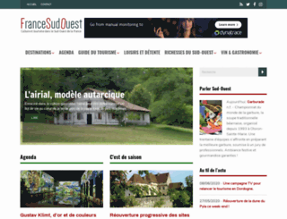 francesudouest.com screenshot