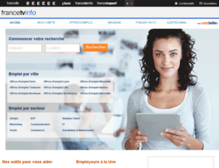 francetv.careerbuilder.fr screenshot