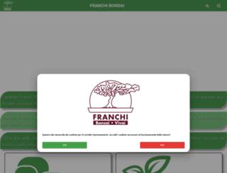 franchi-bonsai.it screenshot