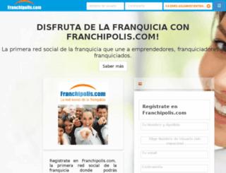 franchipolis.com screenshot