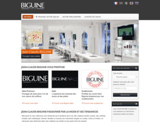 franchise-biguine.com screenshot