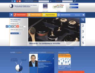 franchise-selection.com screenshot