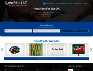 franchise-uk.co.uk screenshot