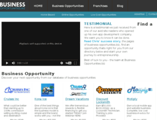 franchise.business-opportunities.biz screenshot