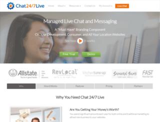 franchise.chat247live.com screenshot