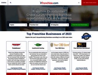 franchise.com screenshot