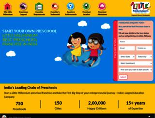 franchise.littlemillennium.com screenshot