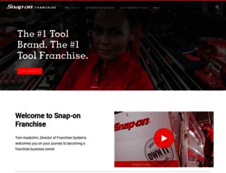 franchise.snapon.com screenshot