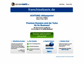 franchisebasis.de screenshot