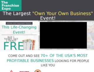 franchiseexporegistration.com screenshot