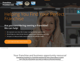 franchisefrontiers.com screenshot