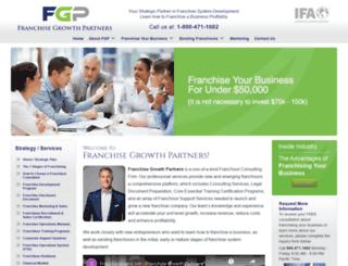 franchisegrowthpartners.com screenshot