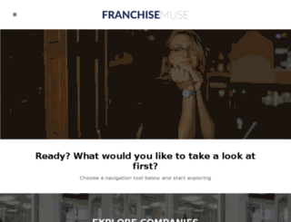 franchisemuse.com screenshot