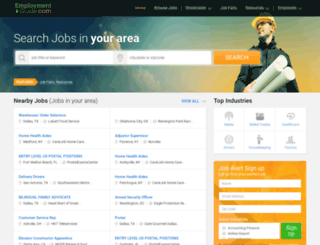 franchiseopportunities.employmentguide.com screenshot