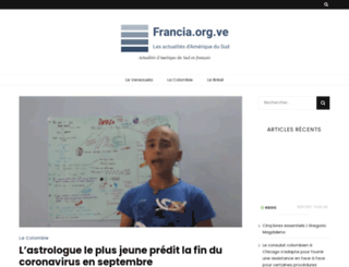 francia.org.ve screenshot