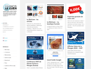 francis-leguen.com screenshot