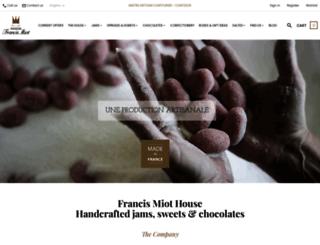 francis-miot.com screenshot
